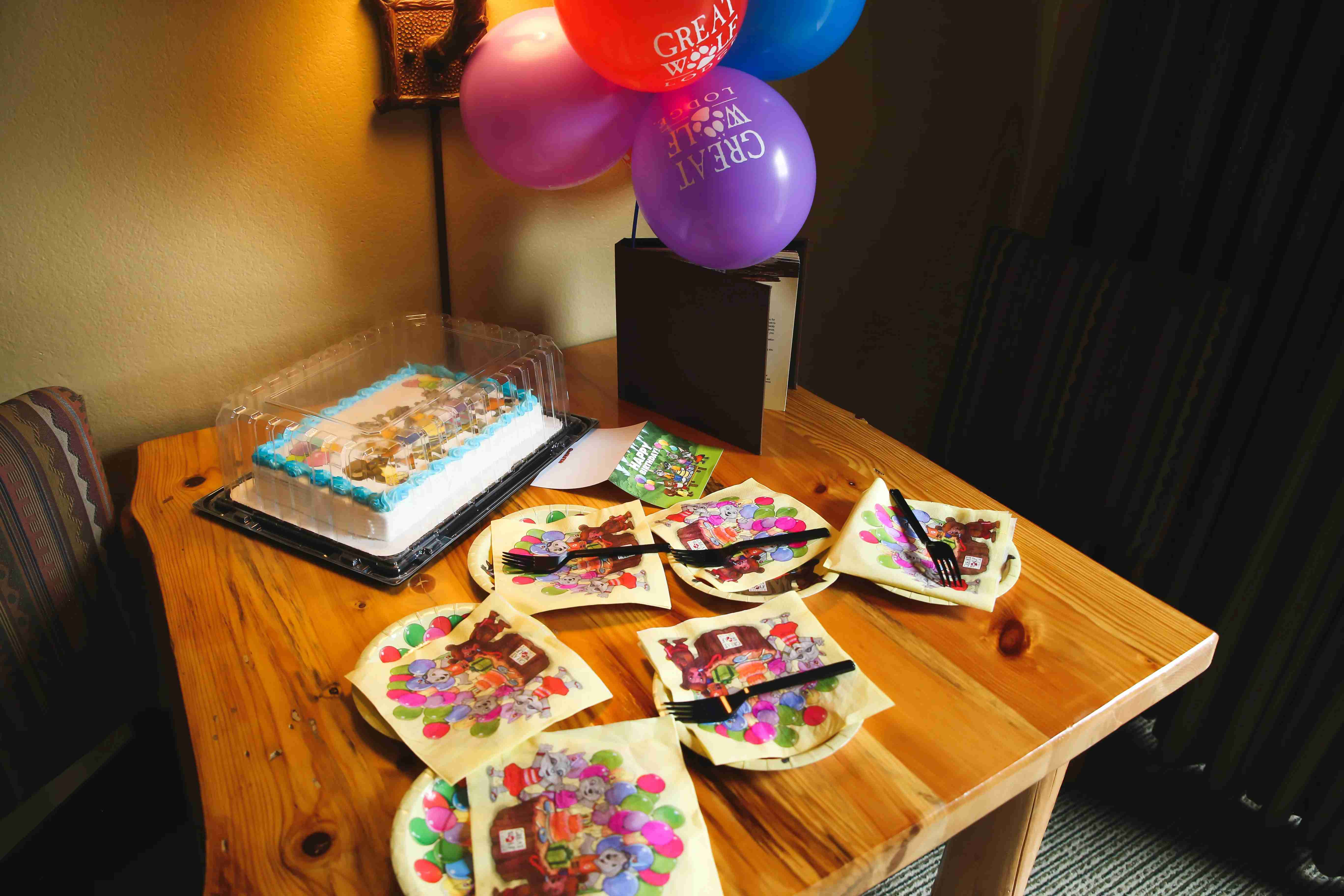 Great Wolf Lodge Birthday Package