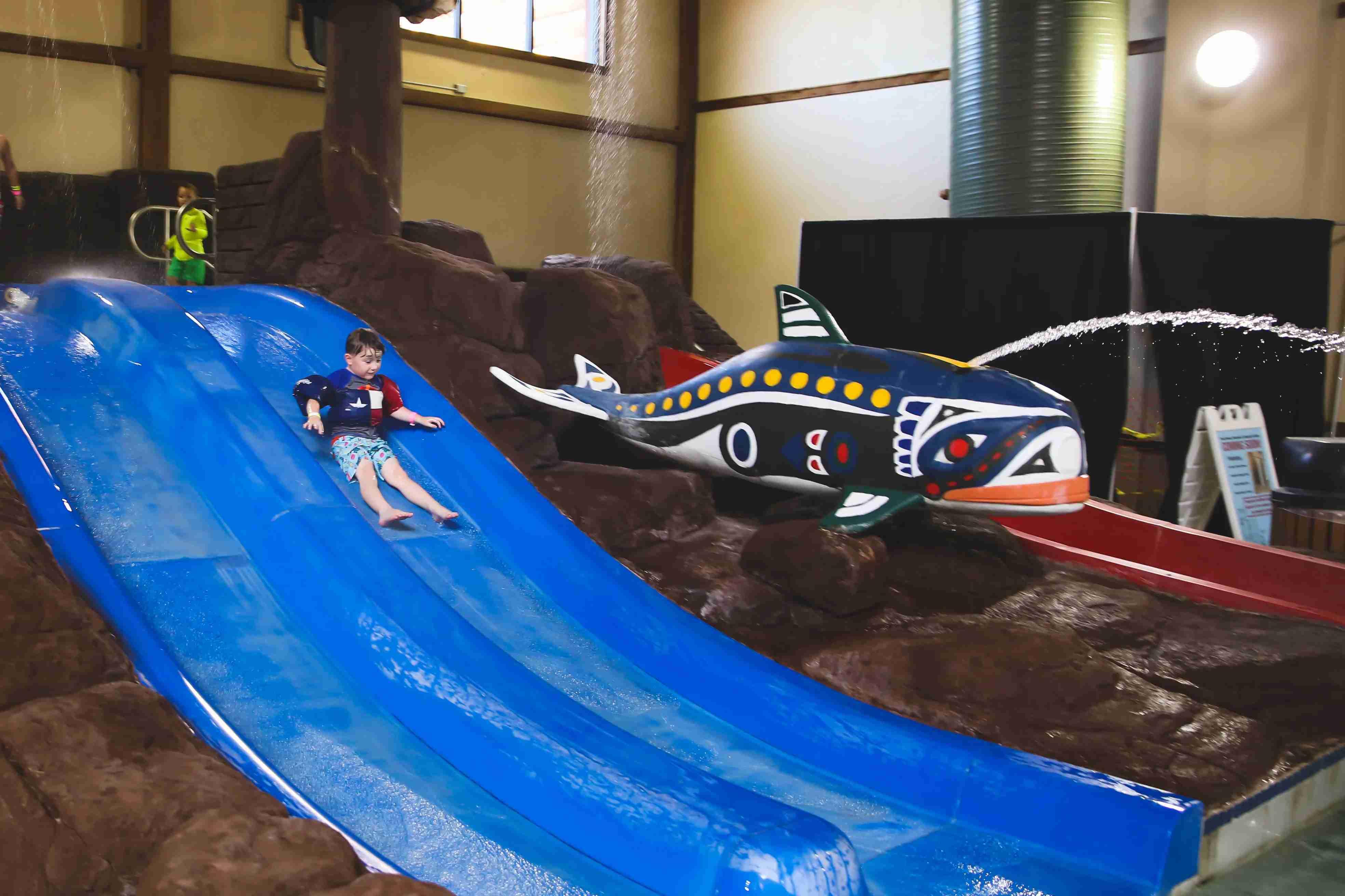 Great Wolf Lodge Kansas City Slide