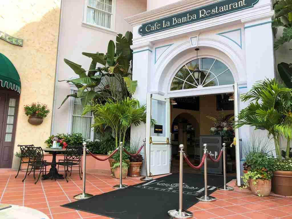 Universal Studios Cafe La Bamba
