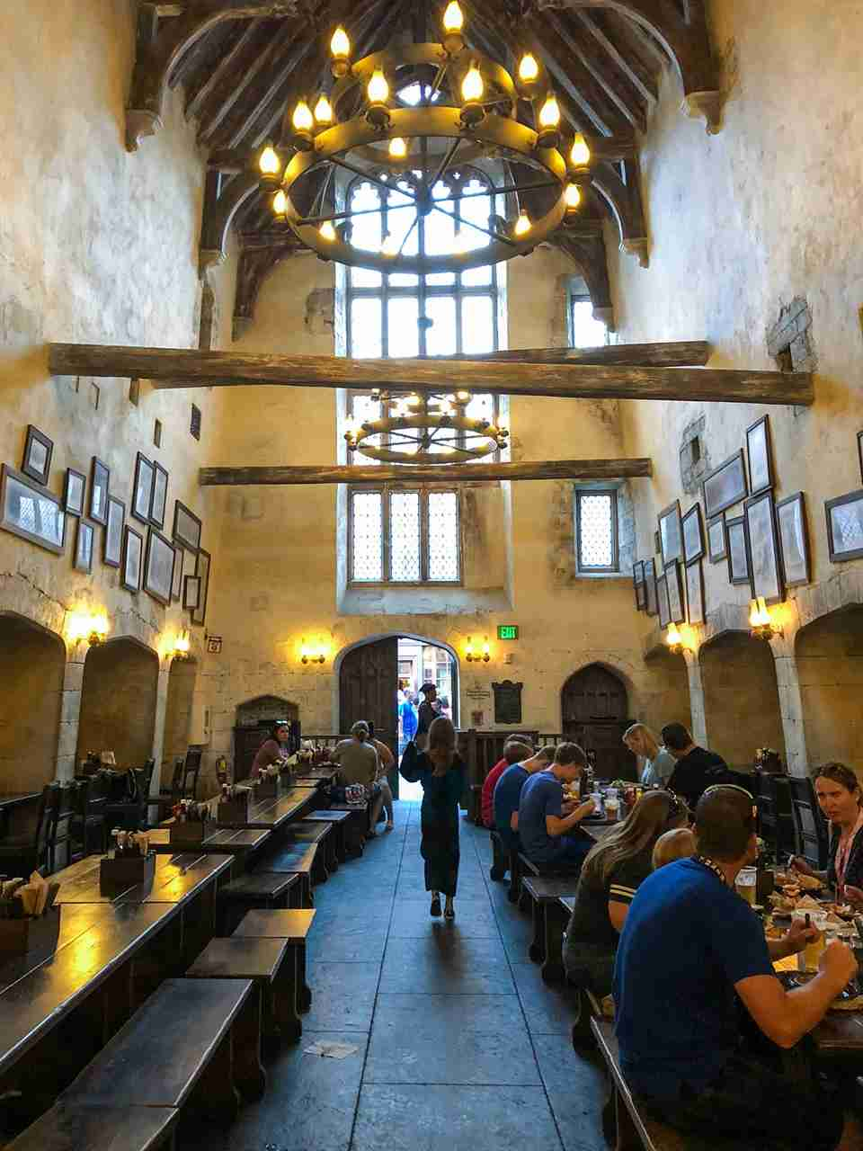 Sorry Royal Pacific, we ate with Harry Potter