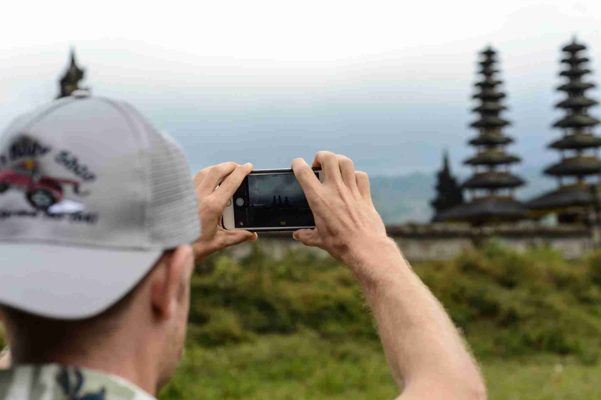 Capturing Indonesia with an iPhone (Photo courtesy of Darren Murph / TPG).