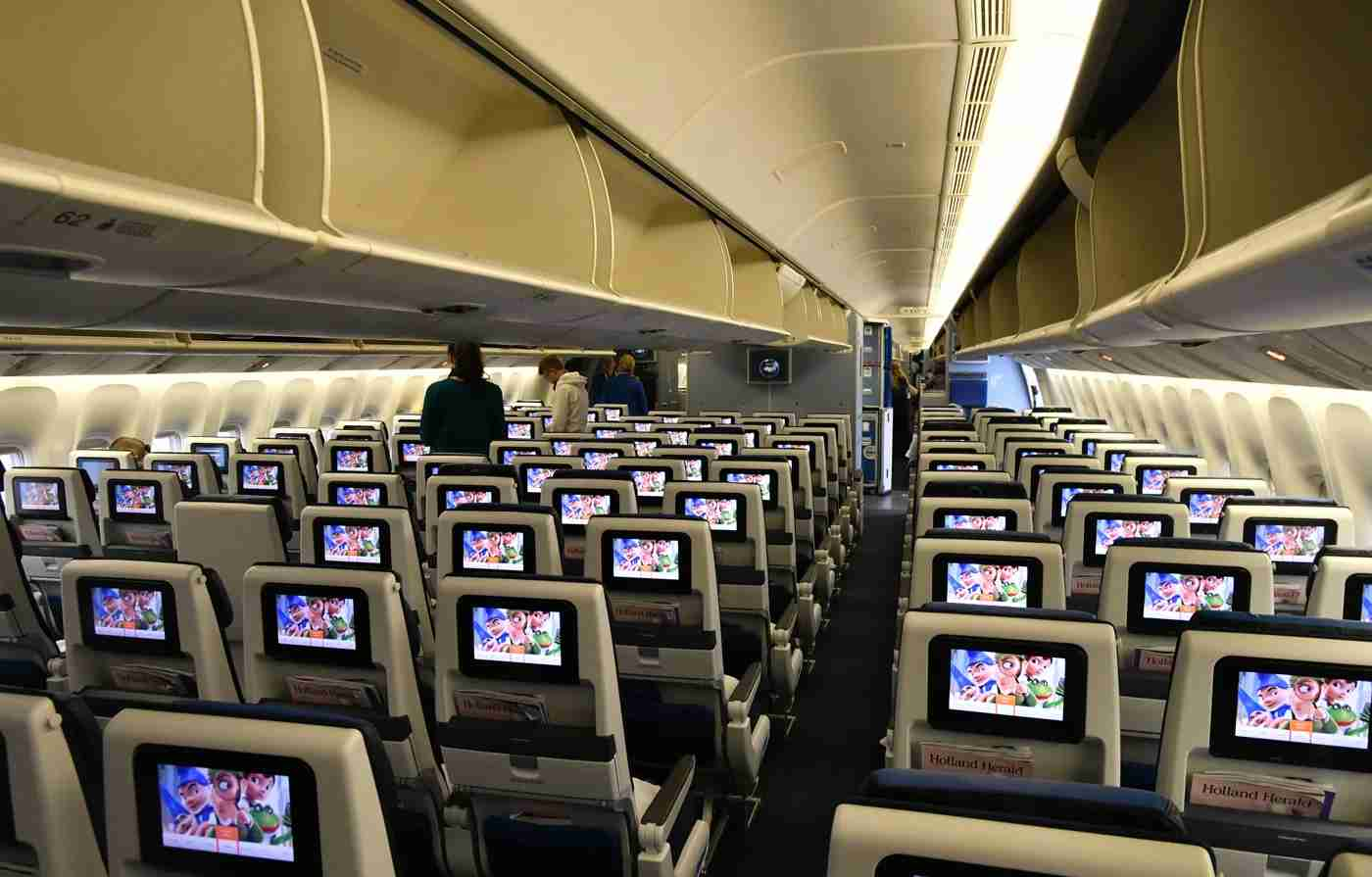 KLM Boeing 777-300ER economy class (Photo by Alberto Riva / TPG)