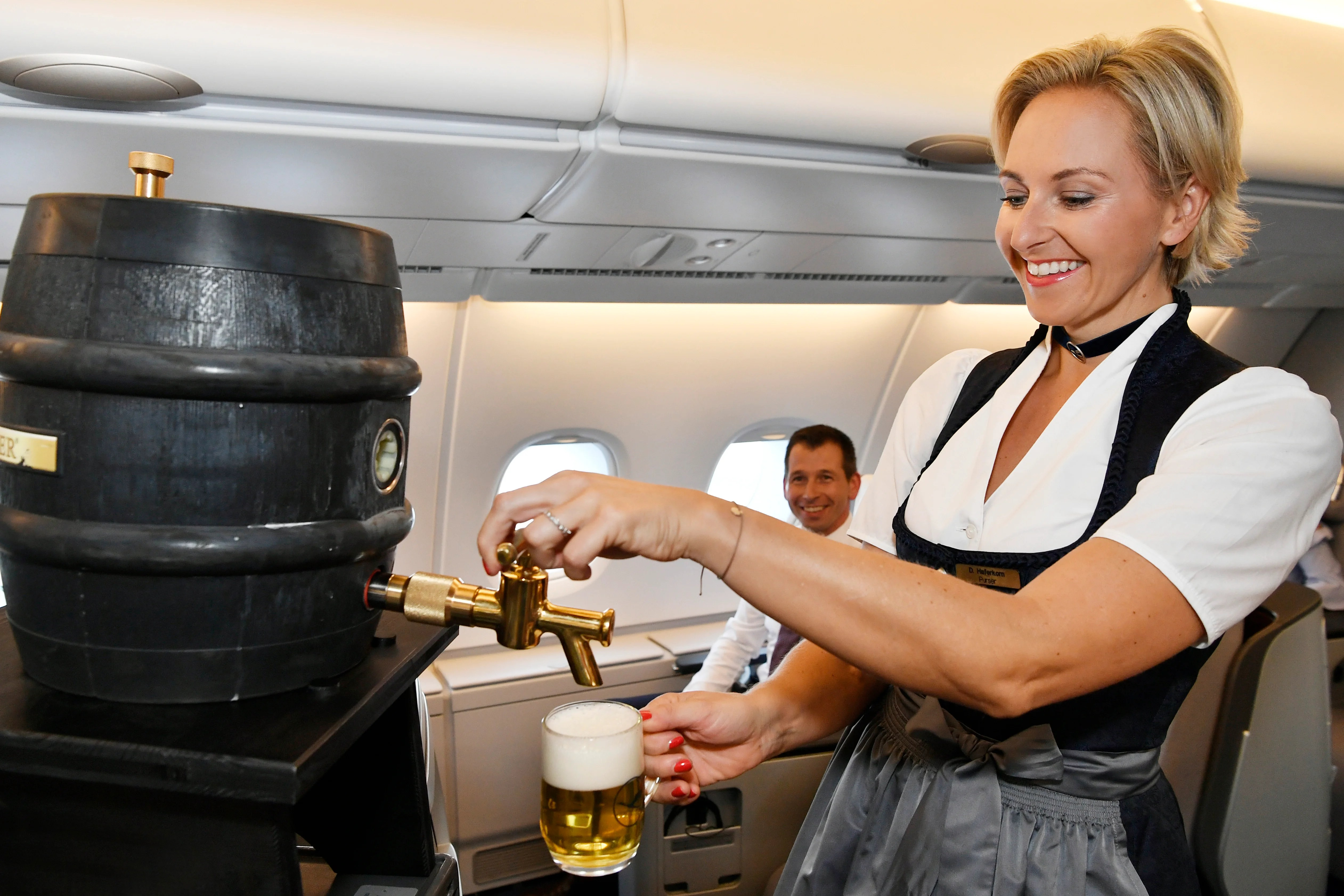 Lufthansa Is Decking out Flights in Oktoberfest Kegs and Garb