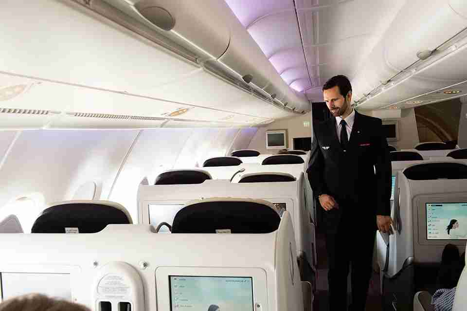 Air France A380 Business Cabin (Photo courtesy of Air France)