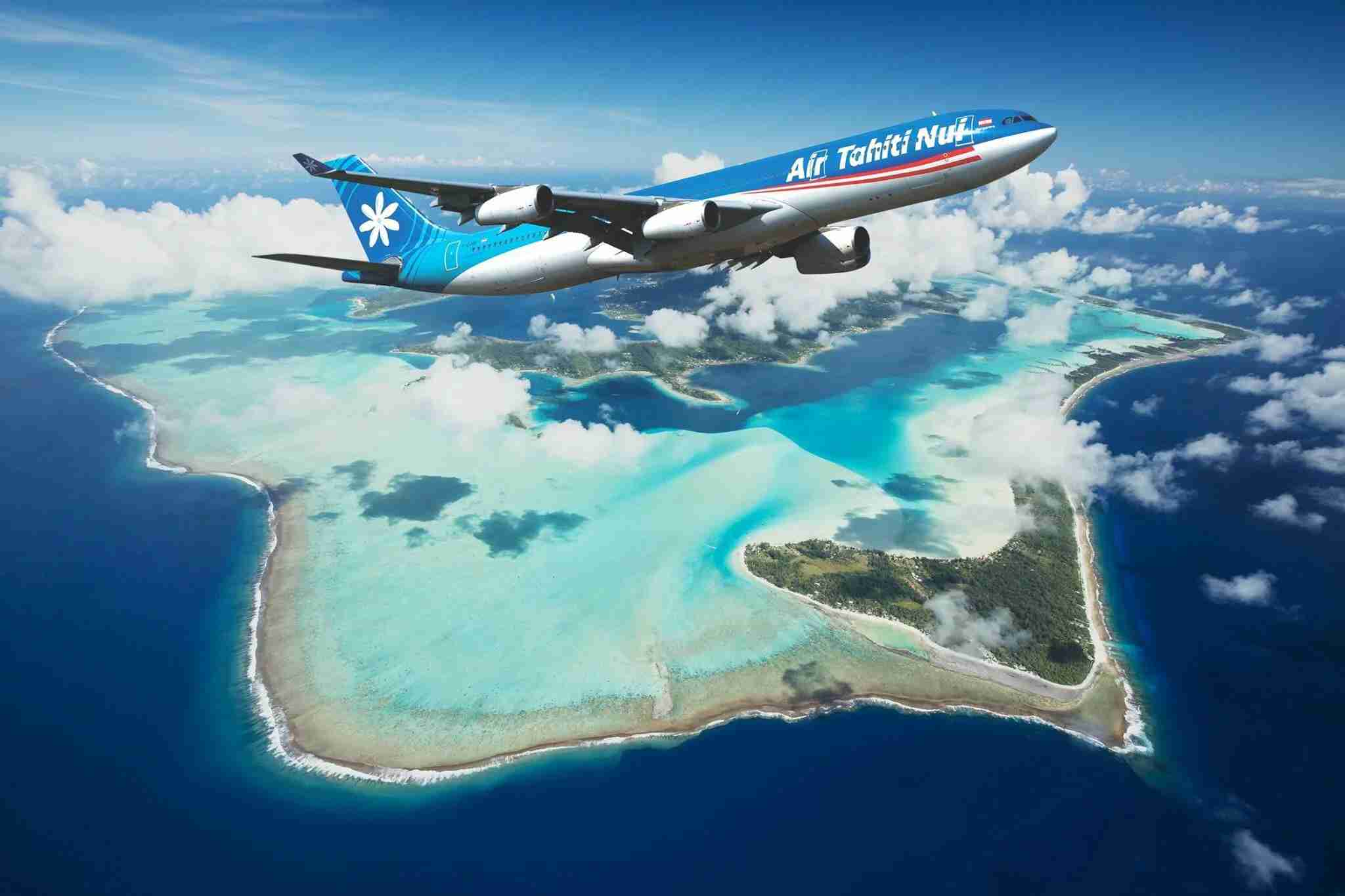 Photo courtesy of Air Tahiti Nui