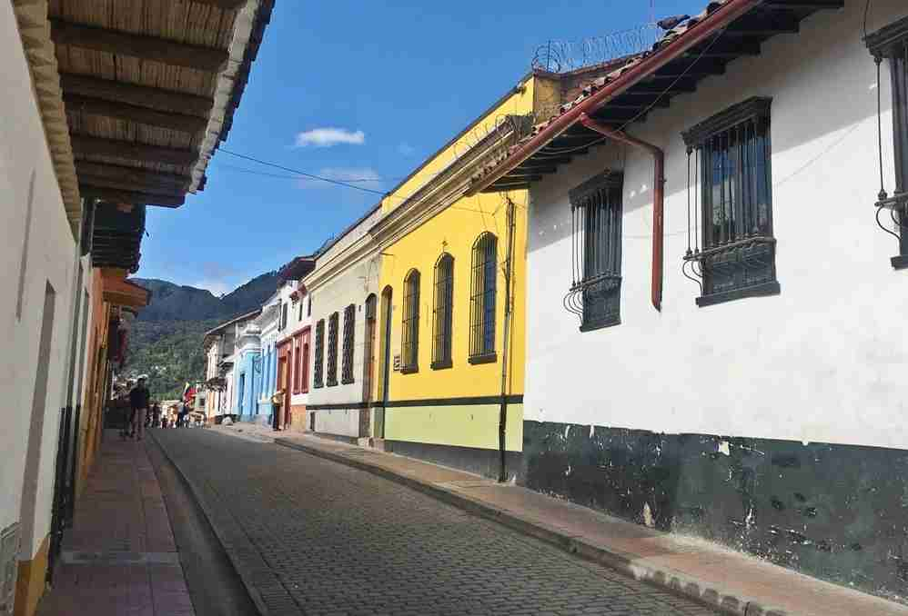The Candelaria is the colorful, historical district of Bogotá.