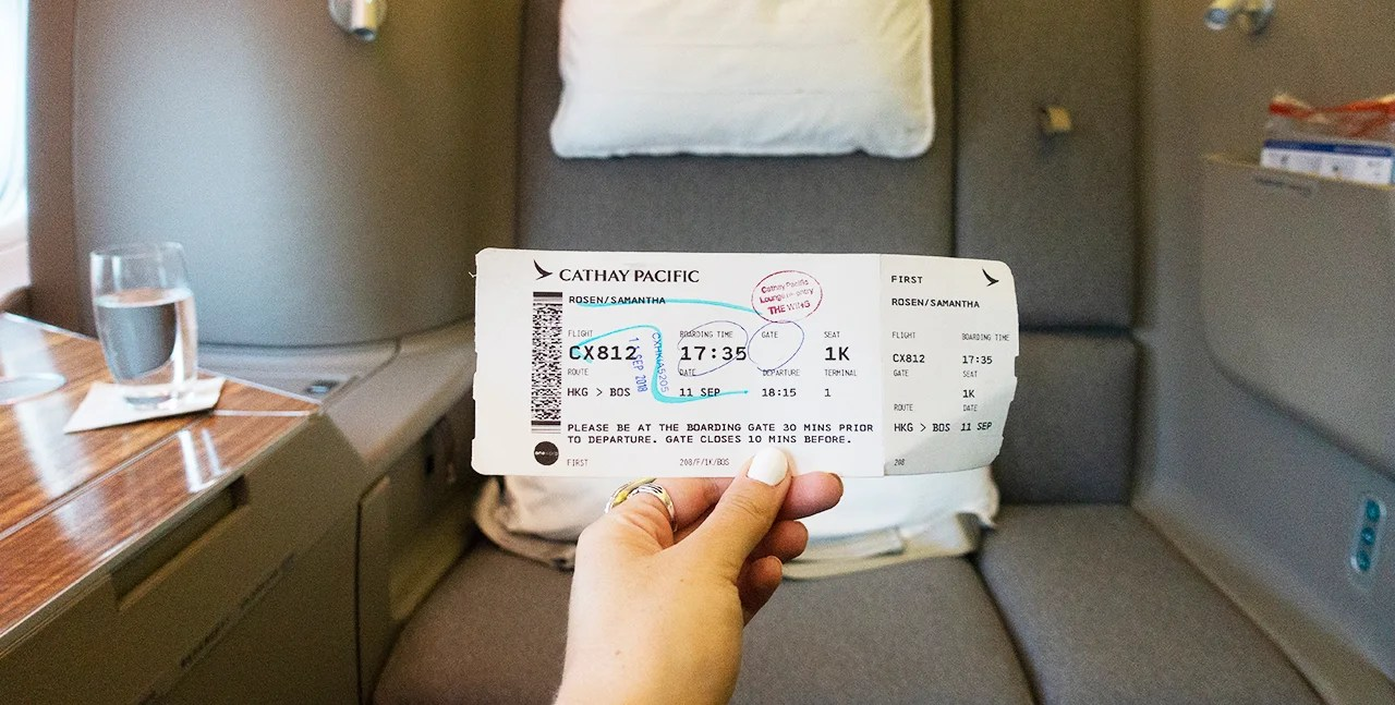 Targeted Amex Offer: Get $300 Back on Your Next Cathay Pacific Flight