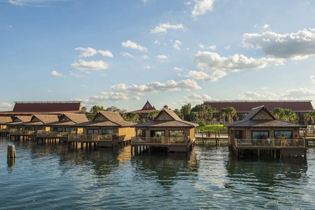 Bora Bora Bungalows at Disney