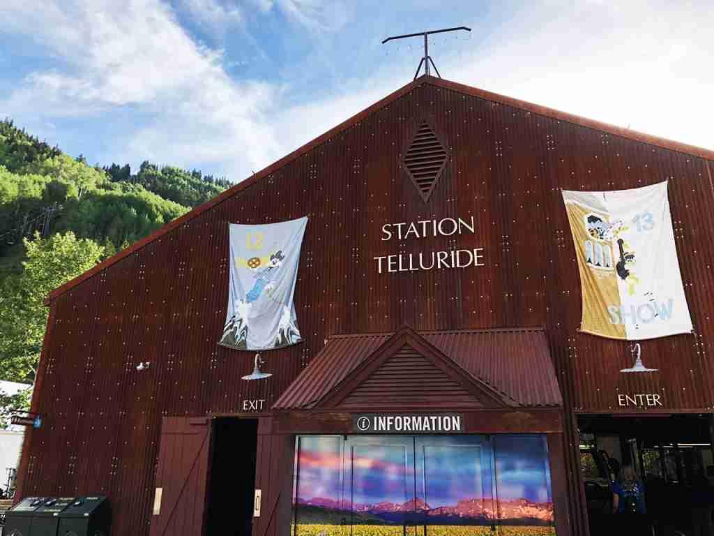 Telluride gondola in the summer