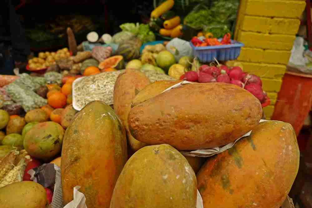 Local fruits at the market. Image by Lori Zaino.