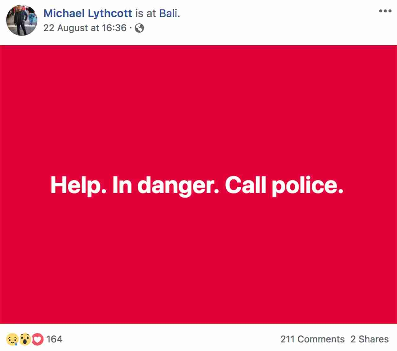 Screenshot courtesy Michael Lythcott