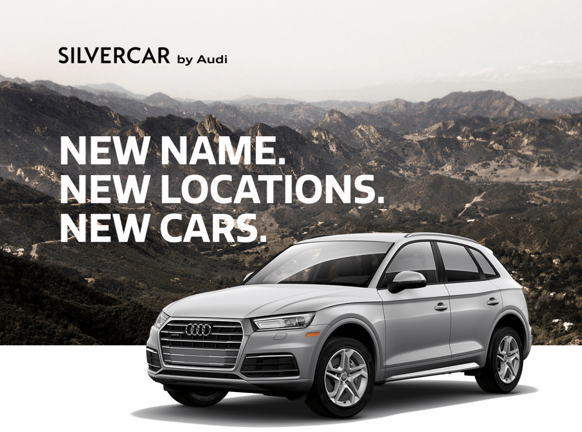 Silvercar Gets A New Name Deepens Ties With Audi - Audi silver car