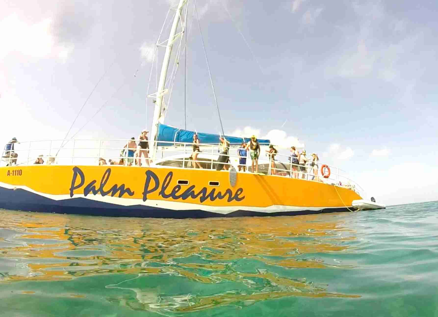 Aruba catamaran tour
