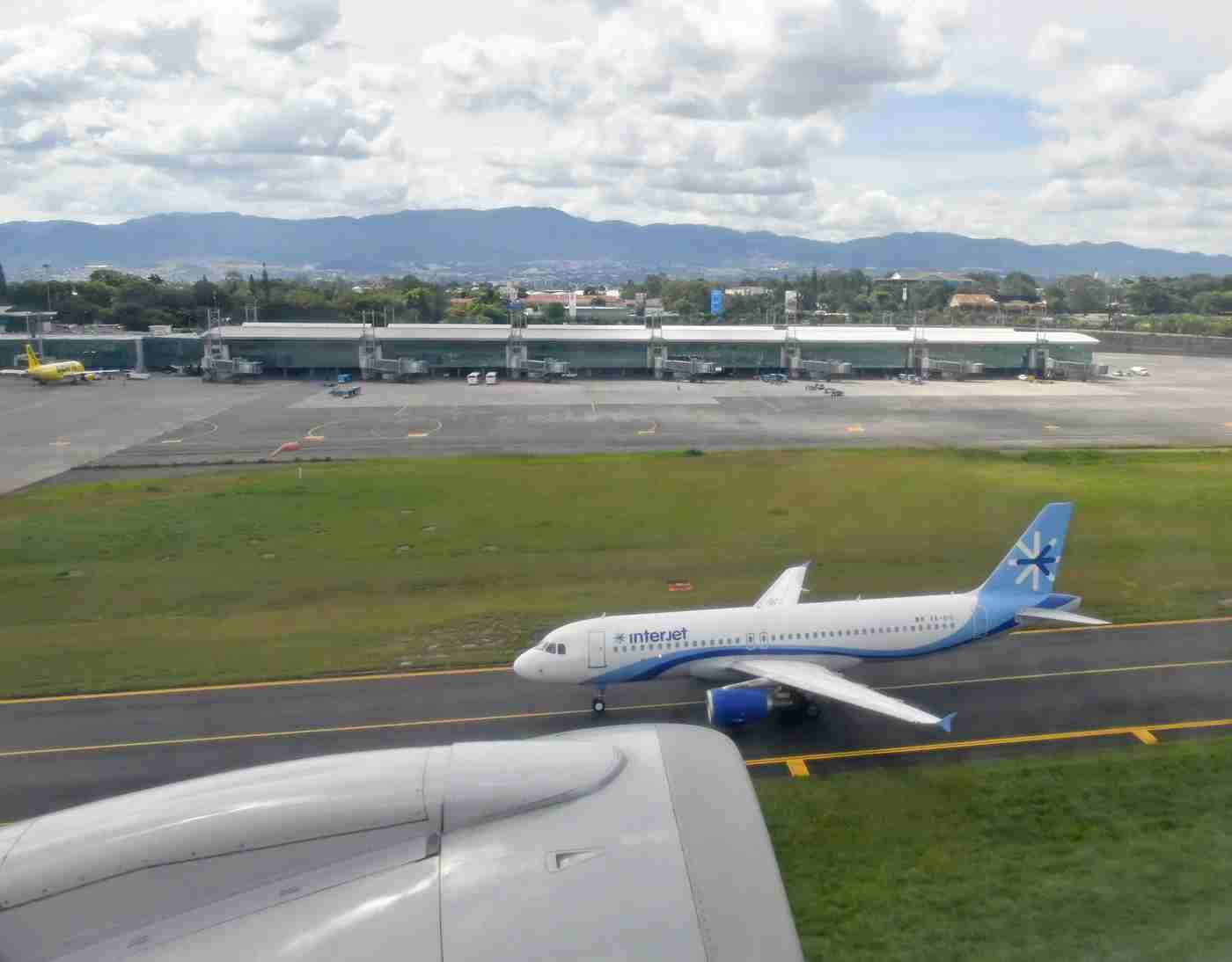 An Interjet A320. (