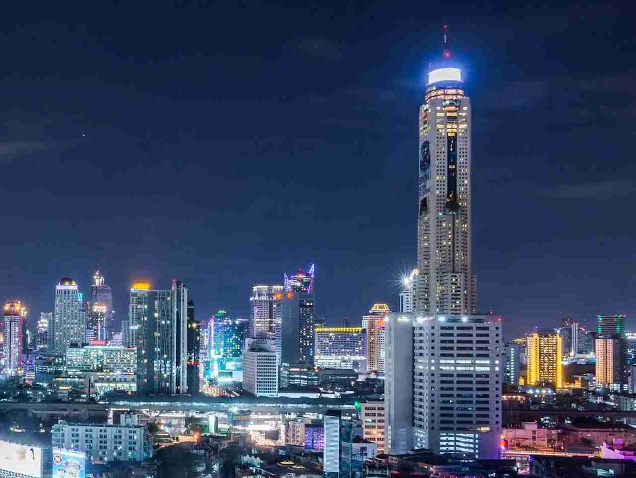 Baiyoke Sky Hotel in Bangkok Thailand. Photo courtesy of Baiyoke Sky Hotel.