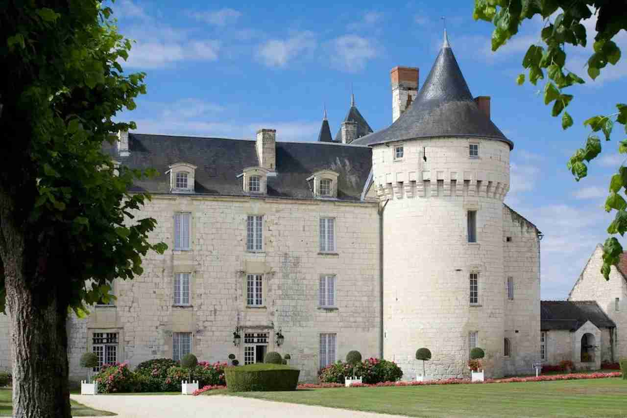 Château de Marçay, France. Photo courtesy of Chateau de Marcay.