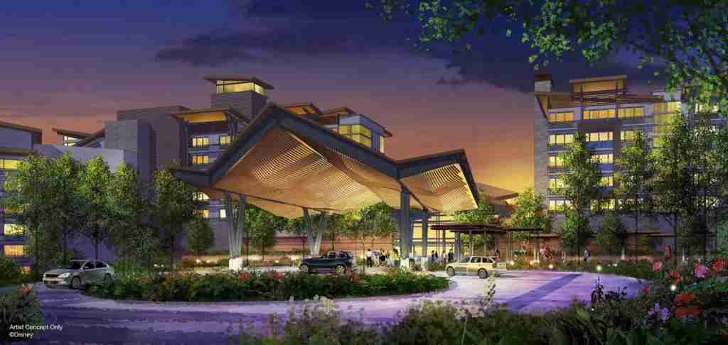 New resort coming to Disney World in 2022 (photo courtesy of Disney World)