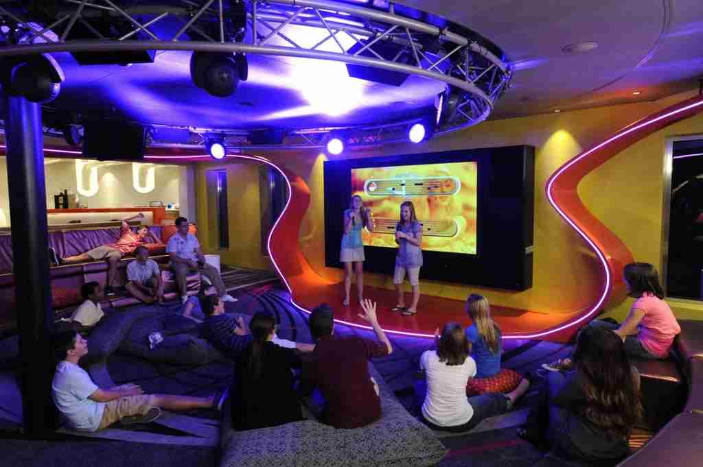 The Vibe Teen Club on some Disney Cruises (Photo courtesy of Disney)
