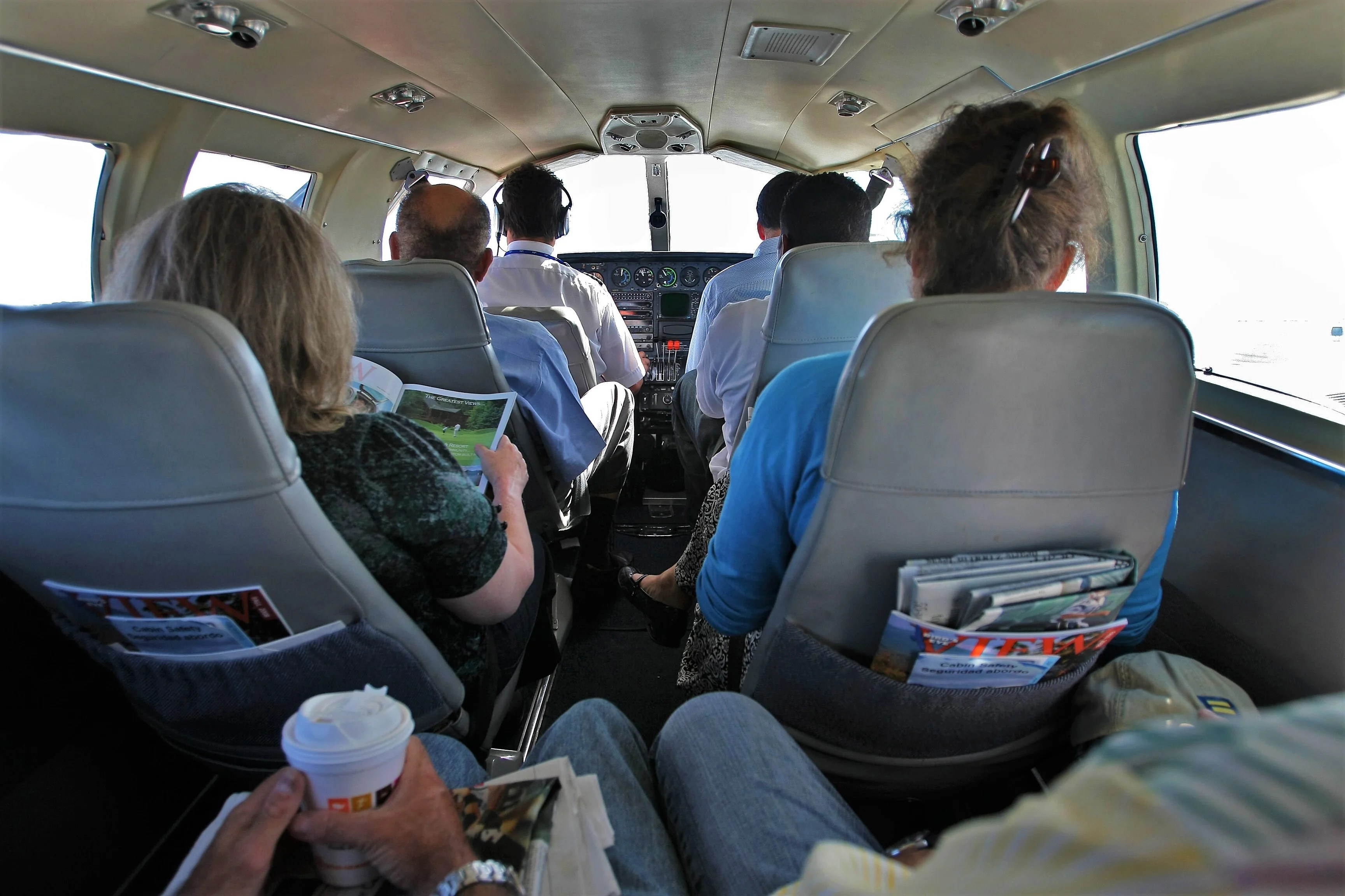 Commercial Flights In A 9 Seat Cessna Launching Next Week