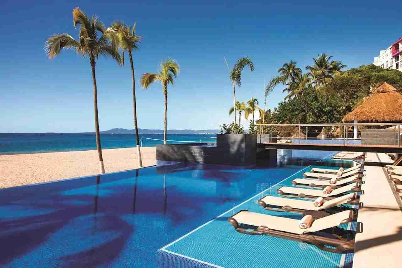 Hyatt Ziva Puerto Vallarta pool. Photo courtsy of Hyatt Hotels.