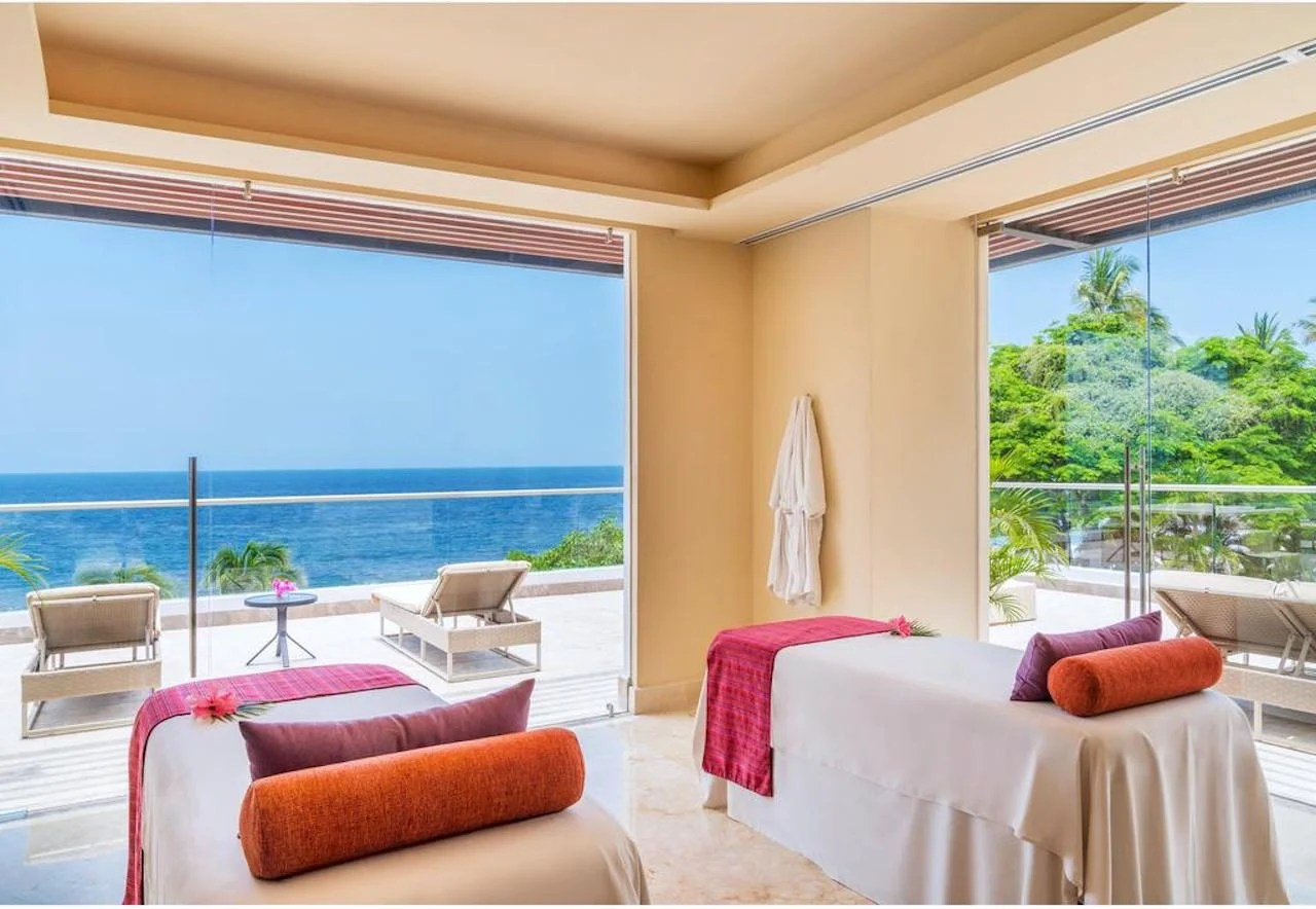 Hyatt Ziva Puerto Vallarta spa. Photo courtesy of Hyatt Hotels.