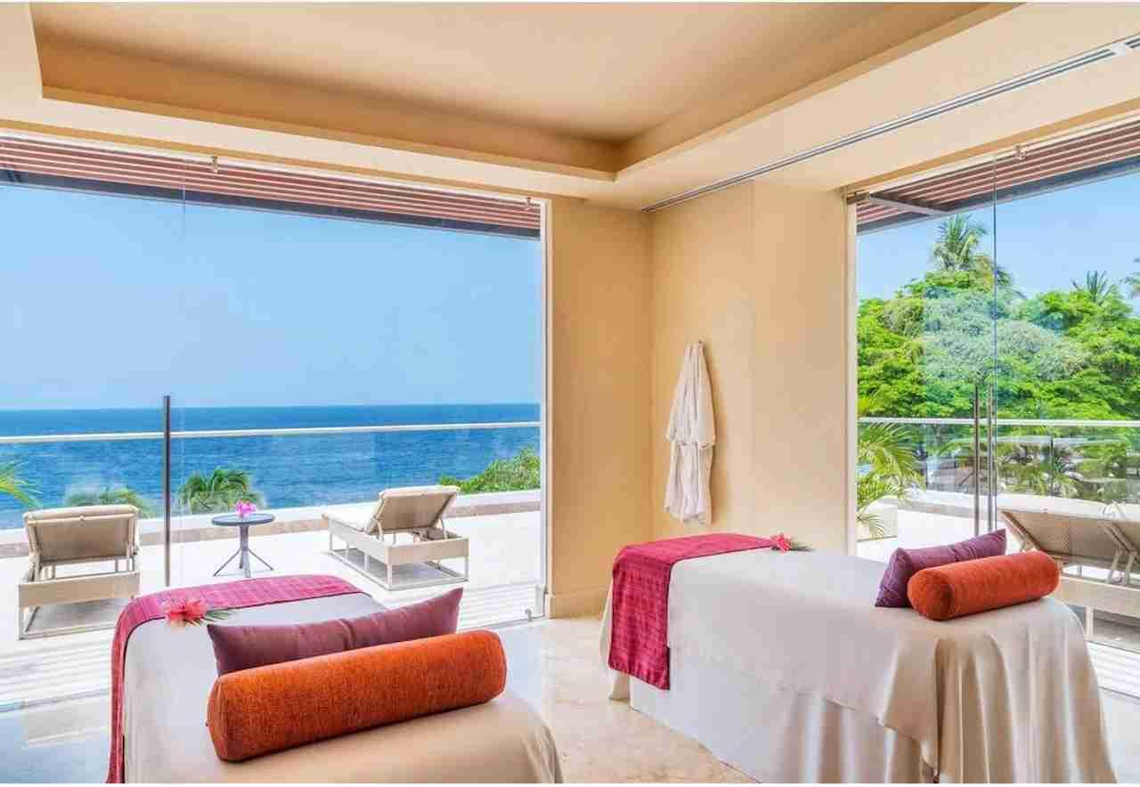 Hyatt Ziva Puerto Vallarta spa. Photo courtesy of Hyatt Hotels.