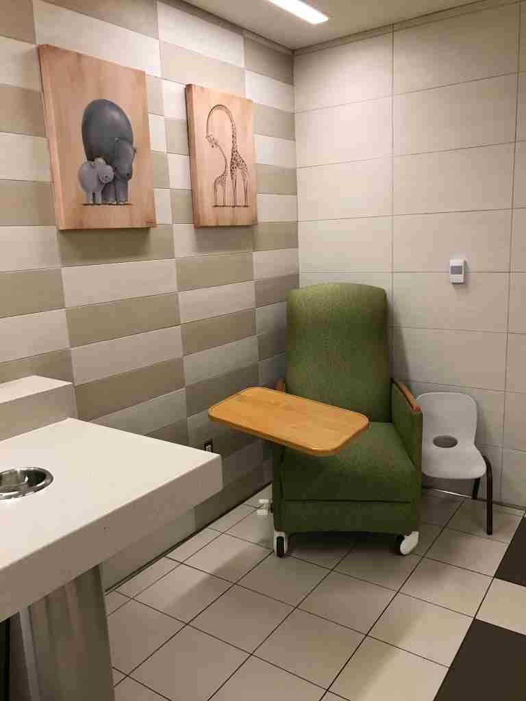 airport lactation room