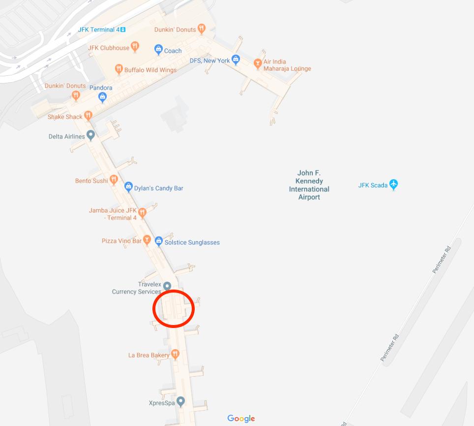 Delta Jfk Terminal Map – Jerusalem House on