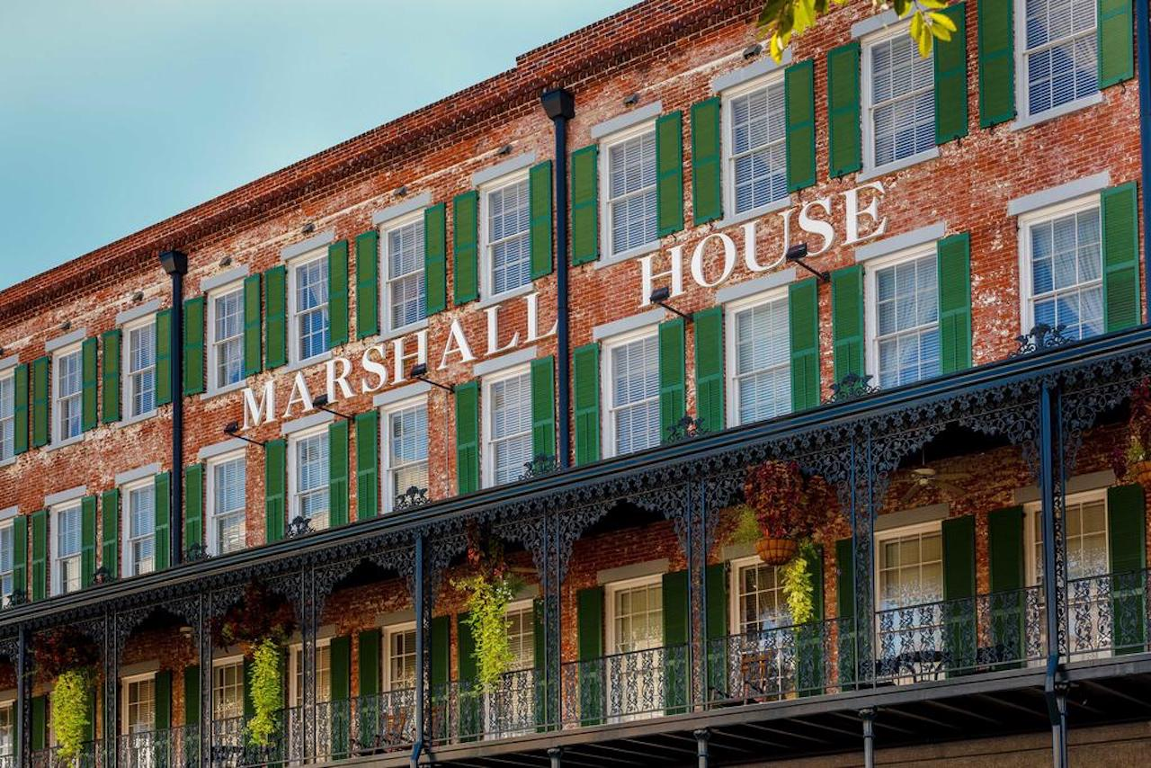 The Marshall Hotel, Savannah, GA. Photo courtesy of the Marshall Hotel.