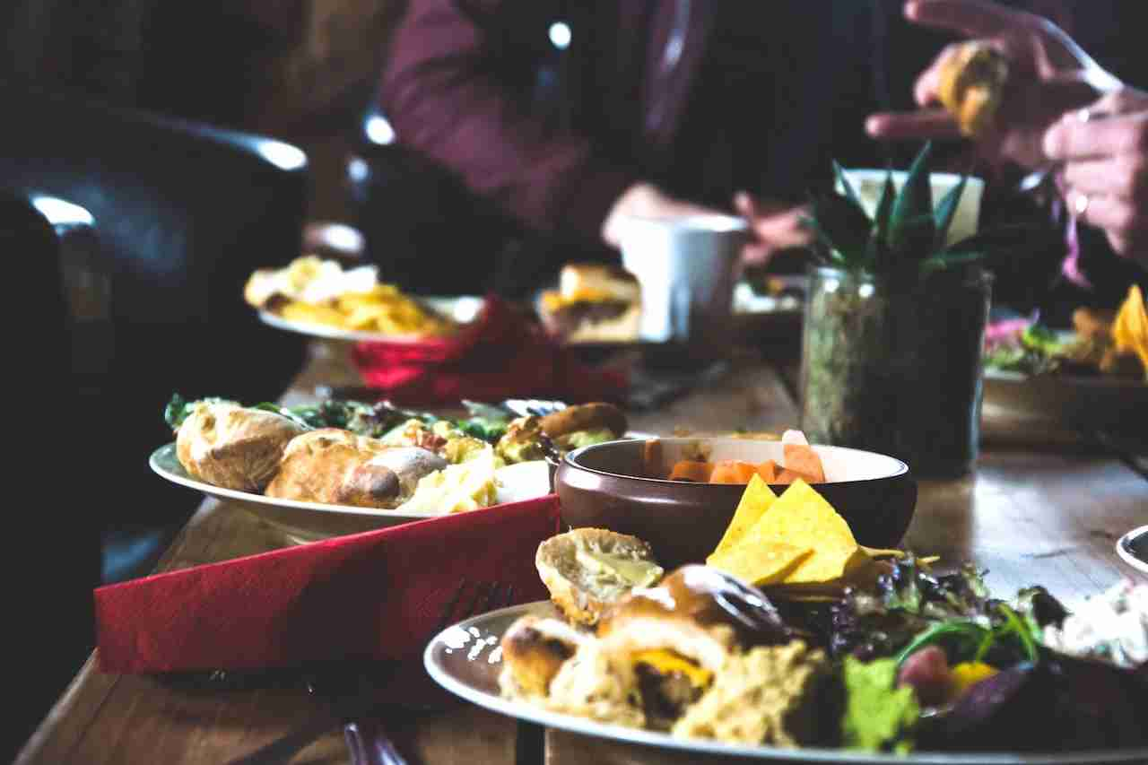 Dinner in Sweden. Photo by Bjorn Radestrom/Unsplash