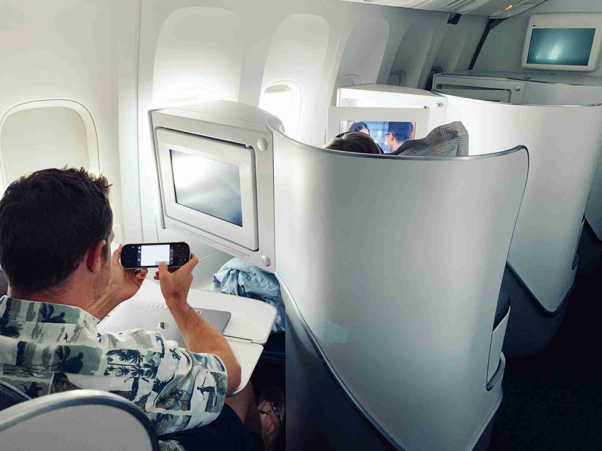 Air France Boeing 777 Business Class Review Tahiti PPT to Los Angeles LAX -
