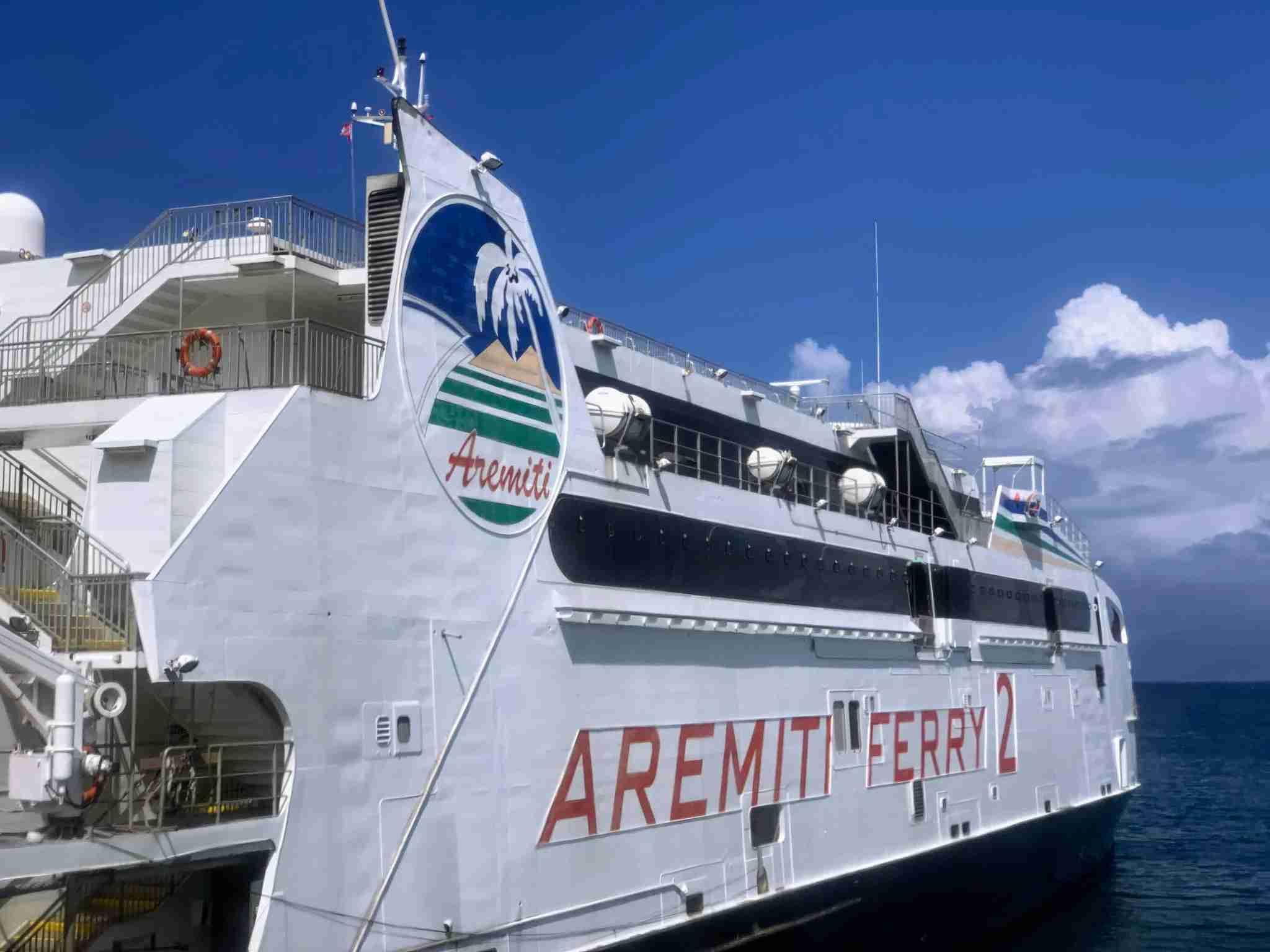 Aremiti 2 ferry