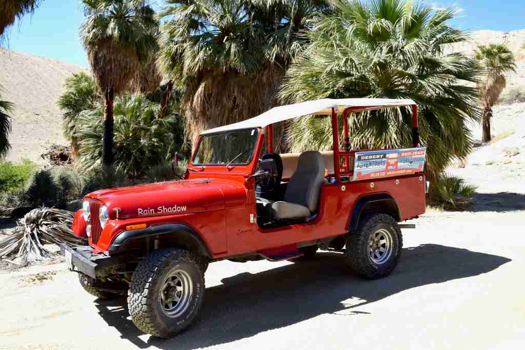 Desert Adventures Red Jeep Tours in Palm Springs