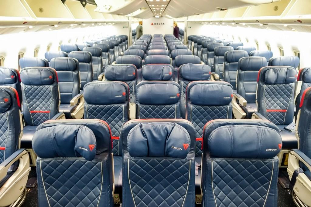 Review Delta 767 400er In Coach Sfo Jfk