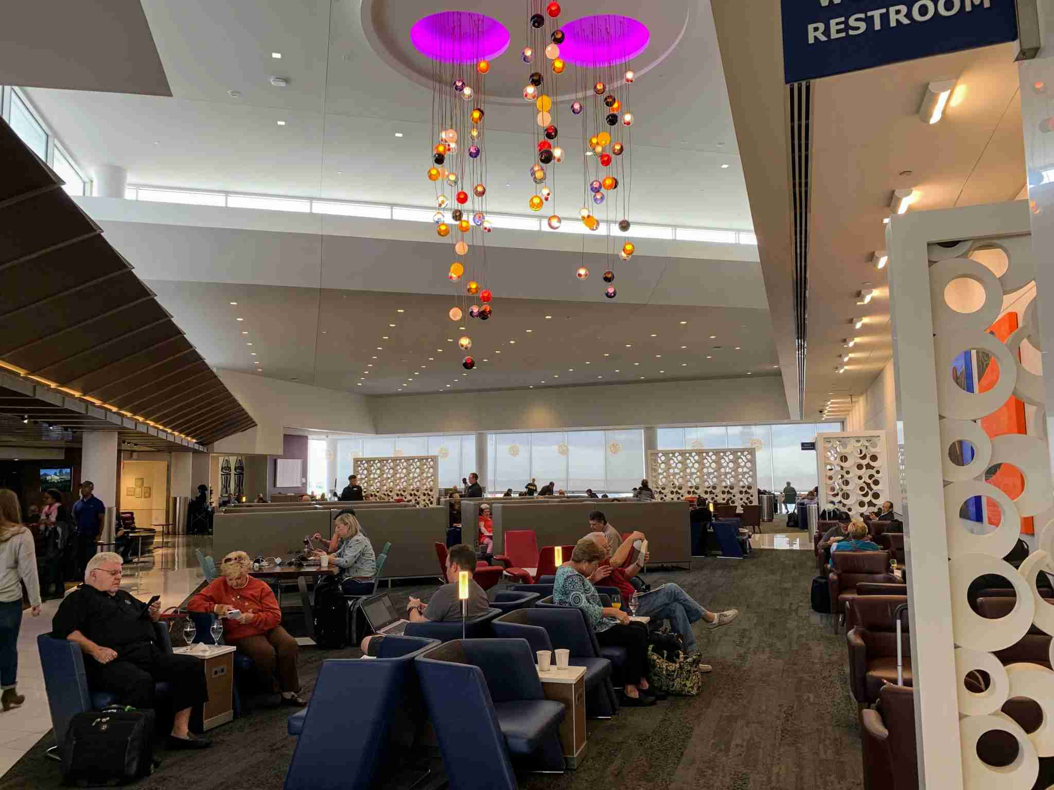 Delta Sky Club ATL Terminal B