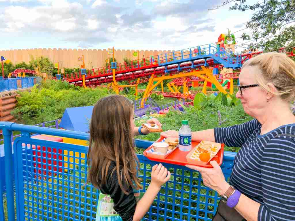 Grab a quick meal in Toy Story Land
