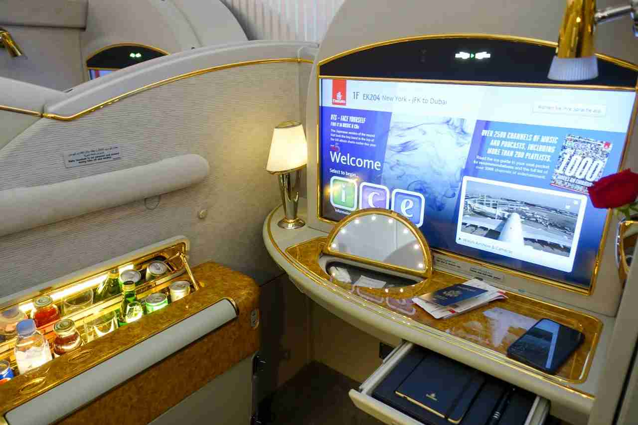 Emirates First Class was a clear winner for some of our TPG Lounge members. (Photo by The Points Guy staff)