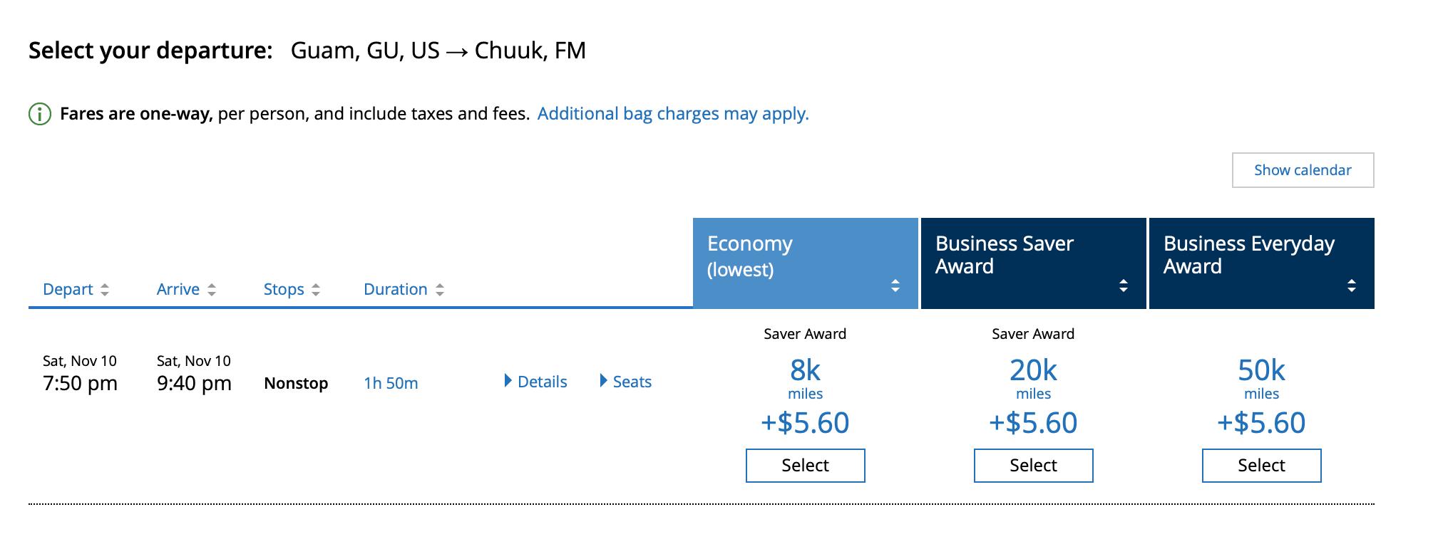 Cheap Oceania flights on United.