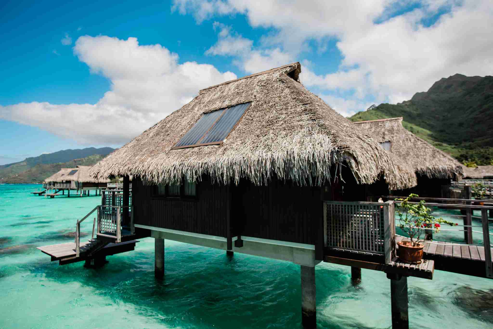 Hilton Moorea Lagoon Resort and Spa - overwater bungalow exterior