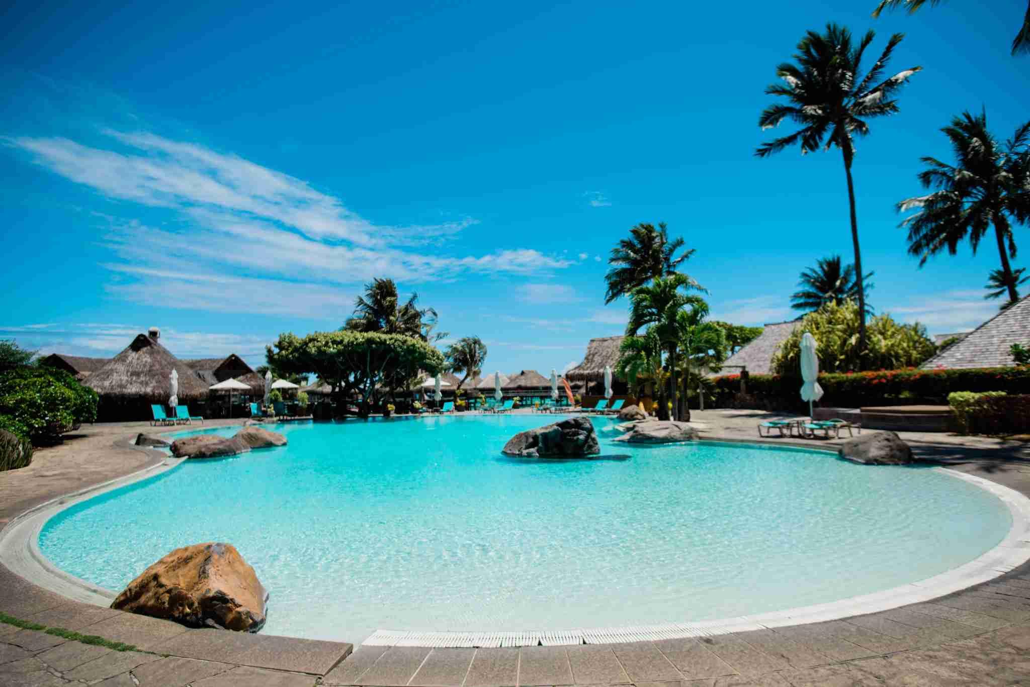 Hilton Moorea Lagoon Resort and Spa - pool