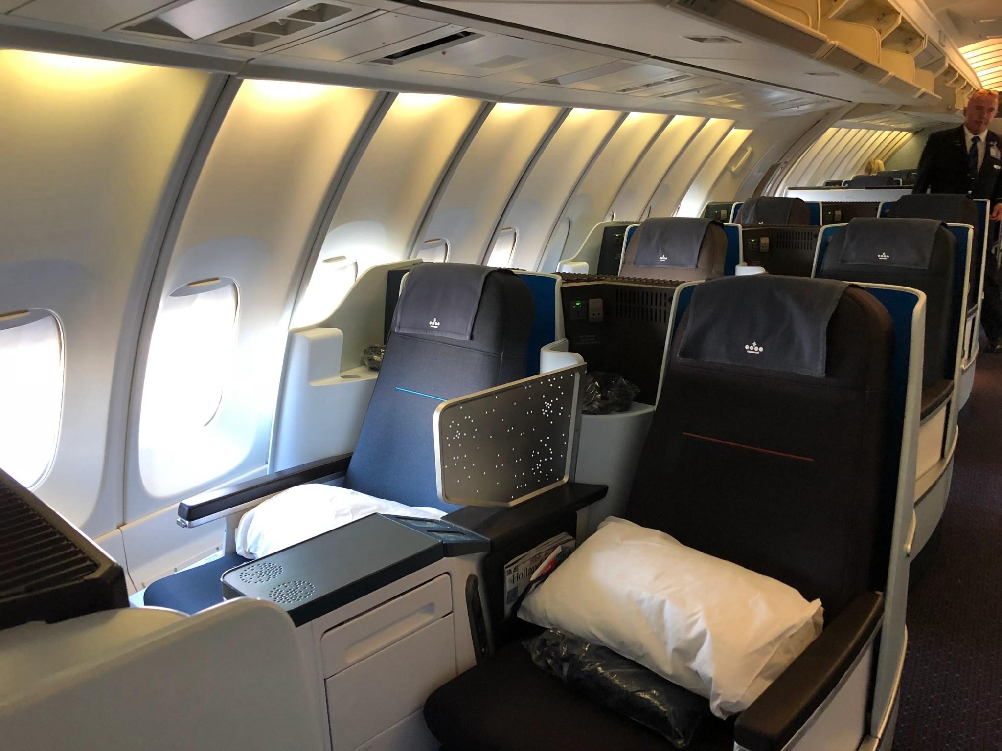 Swell End Of An Era Klm 747 400 In Biz Amsterdam To Chicago Frankydiablos Diy Chair Ideas Frankydiabloscom