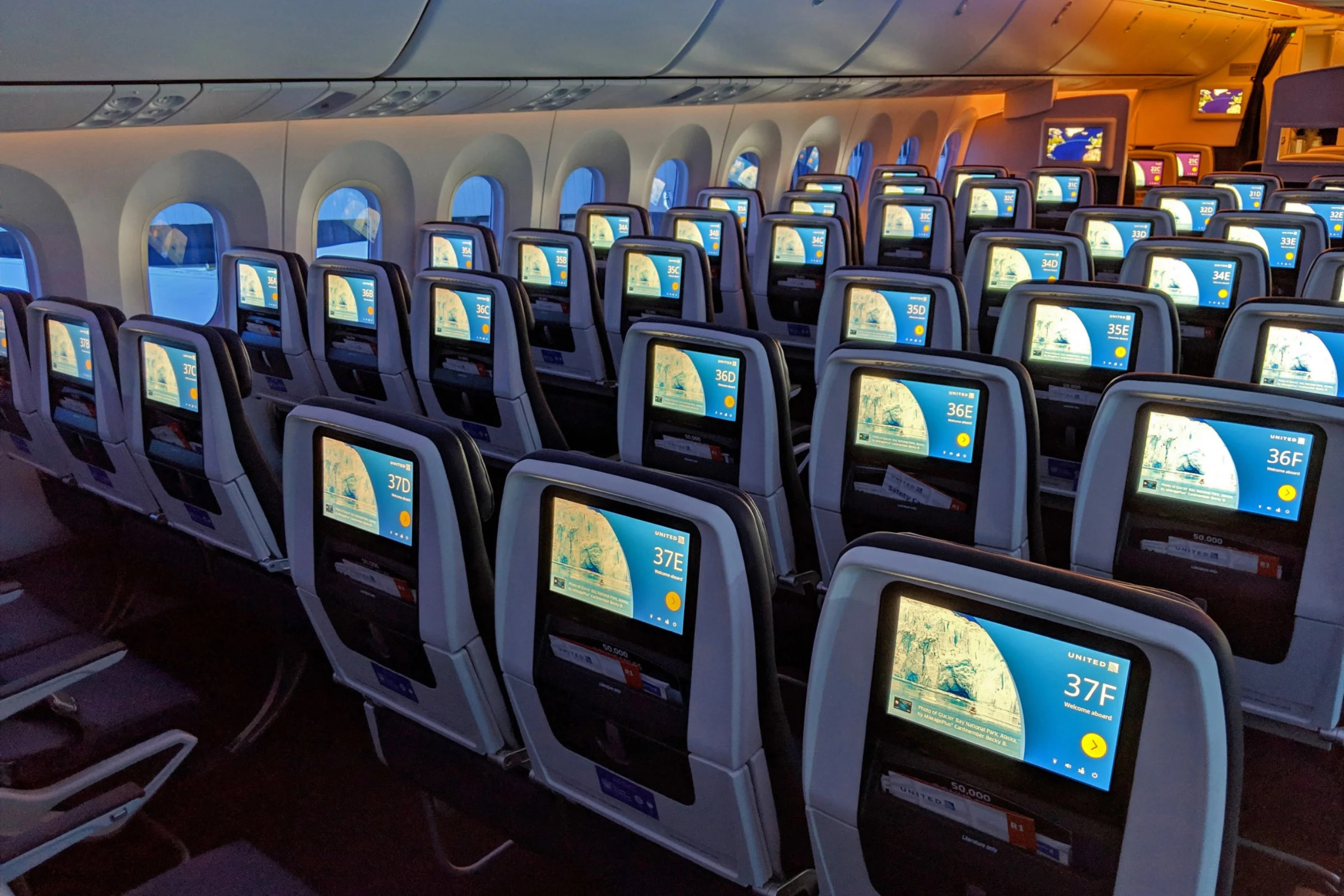 United Begins Charging For Preferred Seats In Economy