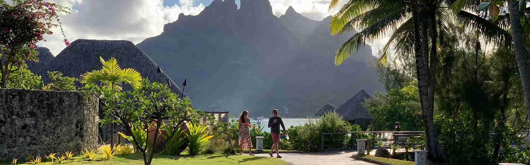 Views from the St. Regis Bora Bora