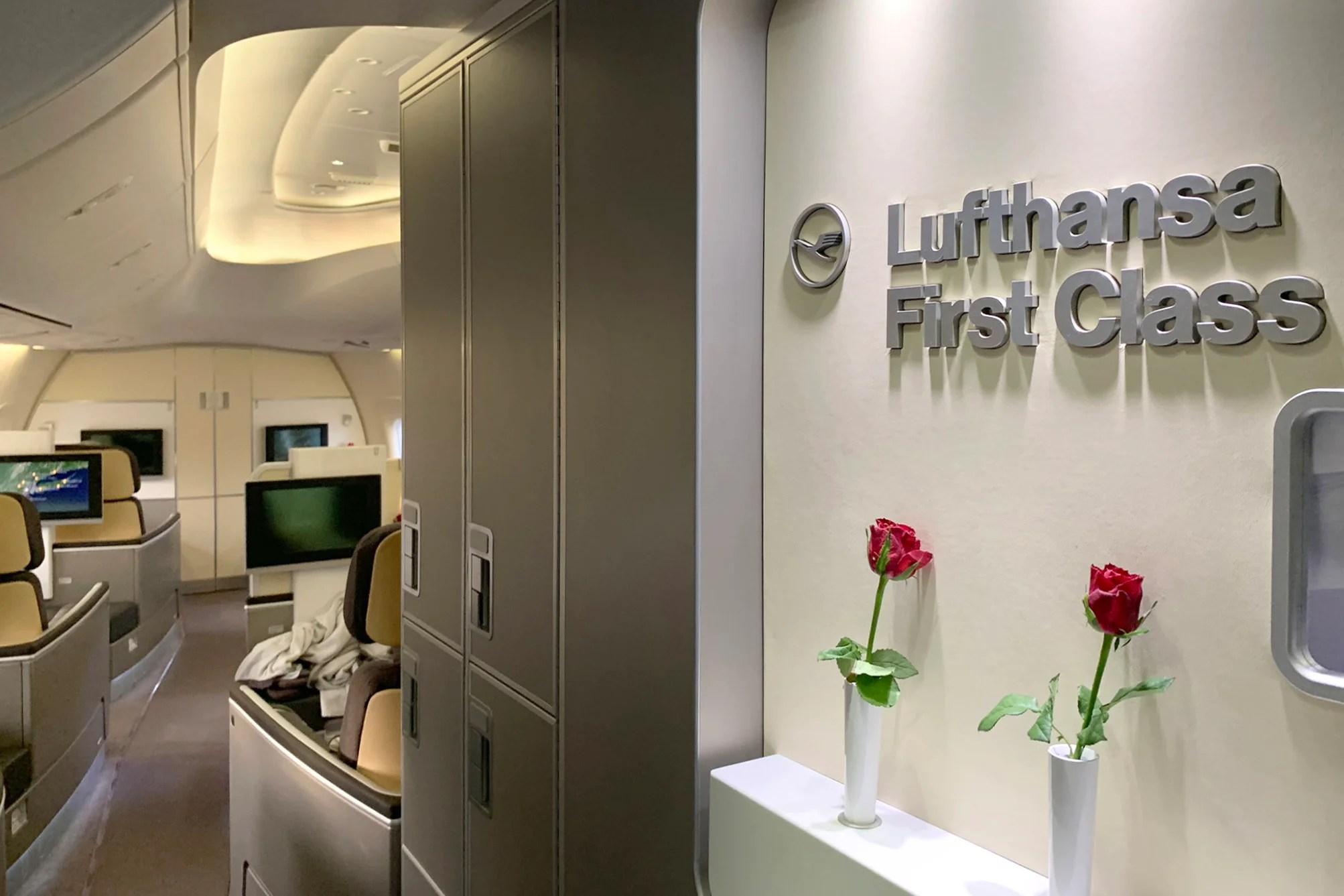 United Bug Limiting Lufthansa First Class Award Bookings