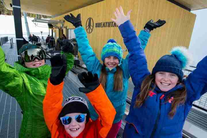 The ski school at Aspen Snowmass is one of the best in the country, with plenty of family-friendly features. (photo credit: Dan Bayer for Aspen Snowmass)
