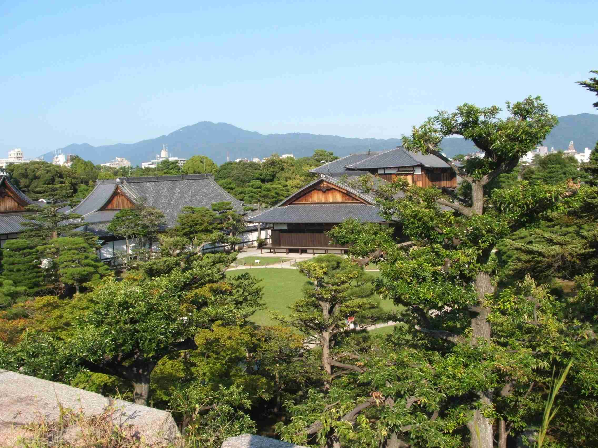 Kyoto is full of green spaces and dotted with temples. Photo: Elen Turner