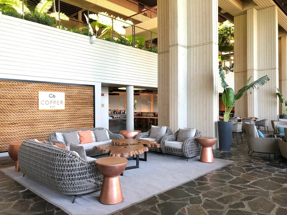 Mauna Kea Beach Hotel - Copper Bar