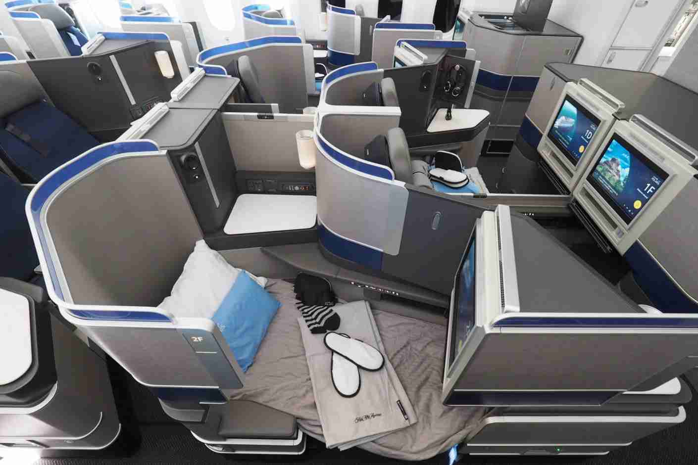 Flying in a shiny new Polaris cabin could end up saving you a decent amount of miles