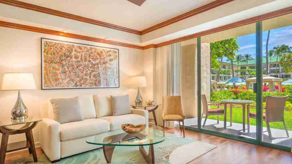 Suite at Grand Hyatt Kauai (image courtesy of hotel)