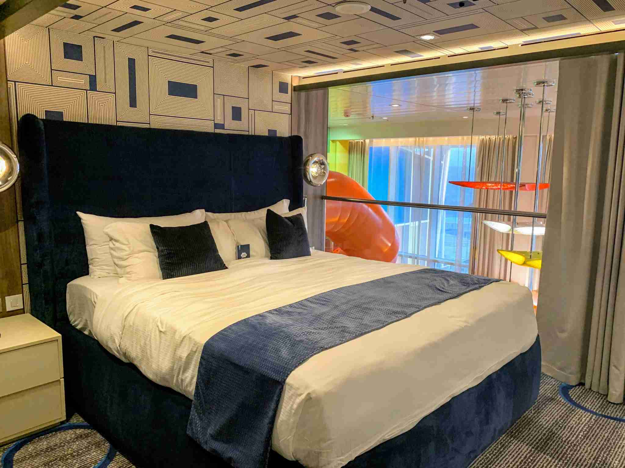 Royal Caribbean Symphony of the Seas - Ultimate Family Suite Adult Bedroom